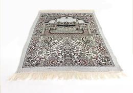 Discount muslim prayer mats - thin Islamic Muslim Prayer Mat Salat Musallah Prayer Rug Tapis Carpet Tapete Banheiro Islamic Praying Mat 70*110cm