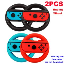 Racing games steeRing wheels online shopping - Racing Wheel for Joy con pair game Wheels for Switch Steering Wheel Gamepad Joy Con Controller Joystick Grip