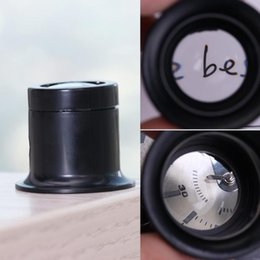 Loupe Wholesalers Australia - Watch Repair Tools 10X Plastic Monocular Glass Magnifier Jewelry Repair Tools Loupe Lens Jeweler Watch Magnifier Tool