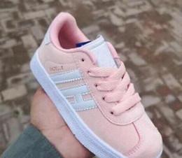 Venta al por mayor de Caliente ! nuevos niños y niñas nuevos zapatos casuales Zapatos para niños Gazelle 9 color talla 25-36