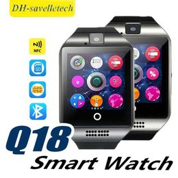 $enCountryForm.capitalKeyWord Australia - Q18 smart watch Women watches bluetooth smartwatch Wristwatch with Camera TF SIM Card Slot Pedometer Anti-lost for apple android phones
