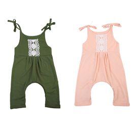 $enCountryForm.capitalKeyWord Australia - 2017 Princess Newborn Baby Girl Lace Romper Sleeveless Strap Elegant Jumpsuit One Pieces Sunsuit Clothes
