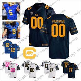 $enCountryForm.capitalKeyWord Australia - Custom Golden Bears College Football Any Name Number Royal Blue Navy White #2 Duncan 7 Chase Garbers Goff Lynch 2019 NCAA Jersey 4XL