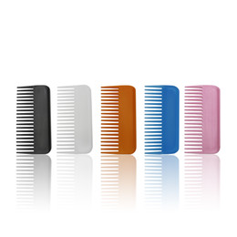 Oil Equipment NZ - Hair Salon Equipment Tools Plastic Hair Comb Waterproof And Antistatic Hotel Travel Portable Hair Small Gift Comb