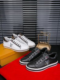Fashion Trends Lace Dress Australia - 2019o new luxury men's trend casual shoes, fashion wild sports shoes, lace-up shoes, original packaging delivery 38-45