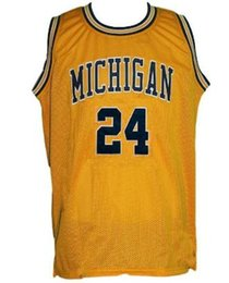 $enCountryForm.capitalKeyWord Australia - Jimmy King #24 Jalen rose #5 College Retro Basketball Jersey Embroider stitched Customized Any Name And Number