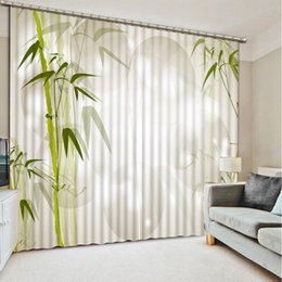 Curtain Painting Australia - Blackout For The Bedroom Painting Photcustom 3d curtain Creative circle green curtains window curtains for living room luxurious m