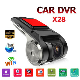 wifi dash cams Australia - 1080P FHD GPS Car Dash Cam Car DVRs Recorder Dash Cam WiFi ADAS G-sensor Camcorder Night Vision Dashcam Accessories