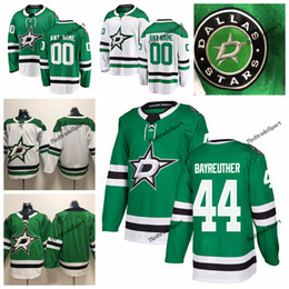 cheap dallas jerseys NZ - 2019 Gavin Bayreuther Dallas Stars Hockey Jerseys Mens Cheap Custom Name Home Green #44 Gavin Bayreuther Stitched Hockey Shirt S-XXXL