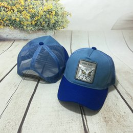 Discount baseball cap patches - Sports Mesh Patch Unisex Animals Embroidery Fashion Baseball Cap Casual Trucker Sun Hat Streetwear Summer Hip Hop Snapba
