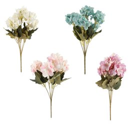 $enCountryForm.capitalKeyWord UK - Artificial Silk Floral Flower Bouquet Hydrangea Wedding Party Room Home Hotel Decor