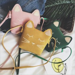 Discount bags kid handbags - Kids Coin Purse Cat Handbag Children Animal Zero Wallet Messenger Bag Cute Mouse Bow Baby Girls Crossbody Shoulder Bags