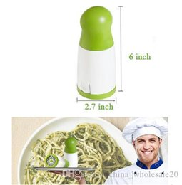 Herb Cutter Australia - Free shipping Vegetable Chopper Multifunctional Manual Vegetable Spiral Slicer Clever Cutter Kitchen Tools Graters