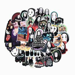 $enCountryForm.capitalKeyWord Australia - 40 Pcs set Japanese Anime Cartoon Faceless Man Stickers for Pad Phone Case Laptop Car Skateboard Helmet Bicycle Suitcase Toys