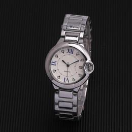 2019 New Arrival Qualidade Grau Marca de Luxo mulheres Relógio de Aço Inoxidável BALLON BLEU Senhora de Prata Relógios De Aço Inoxidável