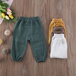 b29fda8ac Toddler Pants Sale NZ - Toddler Baby Kids Girl's Boy's Hot Sale Four Colors  Solid Fashion