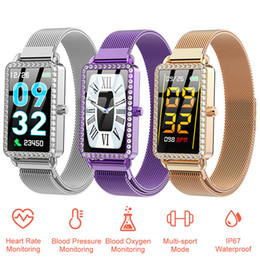 Watches for girls purple online shopping - A88 Women Smart Watch Heart Rate Monitor Blood Pressure Fitness Bracelet Sport Pedometer Smartwatch IP67 for Girls Ladies