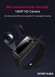 $enCountryForm.capitalKeyWord Australia - STTWUNAKE HD 1080P Digital Mini Camera DV Video Voice Recorder hidden Sports Smart Bracelet Micro Cam Night Vision Camcorder
