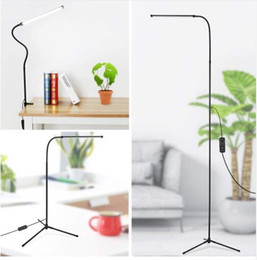 $enCountryForm.capitalKeyWord Australia - 3-in-1 Dimmable Standing LED Floor Lamp with C-Clamp Tripod Base Eye-Care Reading Desk Lamp with Flexible Gooseneck for Study