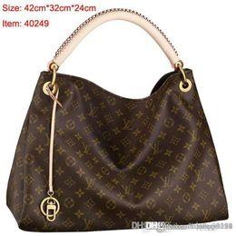 $enCountryForm.capitalKeyWord Australia - 2019 styles Handbag Famous Name Fashion Leather Handbags Women Tote Shoulder Bags Lady Leather Handbags M Bags purse A16
