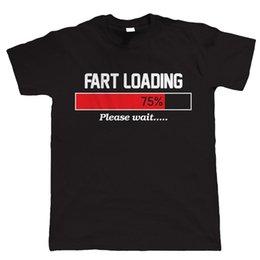 Fart a camisa ofensiva engraçada dos homens do carregamento, presente de aniversário do dia de pais para o pai ele venda por atacado