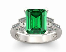 noble low price high quality wholesale 3pcs lots diamond crystal jade 925 silver lady's ring size 6-10 (3.5)