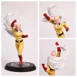 Sensei Figure NZ - Huong Anime Figure 26 .5 Cm One Punch Man Saitama Sensei Face Can Change Pvc Action Figure Collectible Model Toy Brinquedos