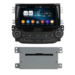 din car dvd chevrolet Canada - New Android 9.0 Octa Core 4G RAM Car DVD GPS Navigation for Chevrolet Malibu 2015