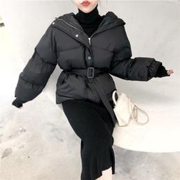 $enCountryForm.capitalKeyWord Australia - 2018 Korea Style Fashion Loose Thicken Parkas Coats Female Warm Winter Sashes Jackets