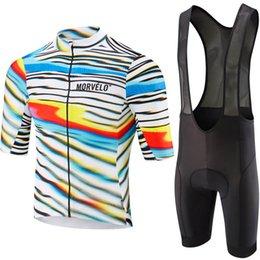 $enCountryForm.capitalKeyWord Australia - 9D pad,Morvelo 2019 Men Cycling Jersey Short Sleeve Summer Breathable bib shorts Bike Clothing Quick Dry Shirt Ciclismo Maillot