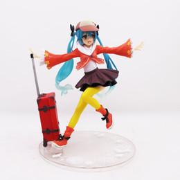 Supply Anime Sexy Girl Vocaloid Hatsune Miku Sakura Miku Pvc Action Figure Collectible Model Adult Toys Doll 18cm Pink Color Toys & Hobbies