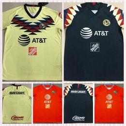 6334b09b7 2019 Mexico club America home and away Soccer Jersey 18 19 Club de Futbol America  third Away Football Shirts