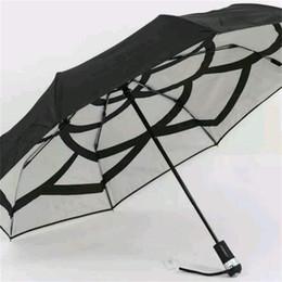 5bacc9924 Fashion umbrellas online shopping - Brand Parasol Ultralight Umbrella  Sunscreen Bumbershoot Women Double Layer Fold Sunny