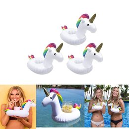 eco pool Australia - Inflatable Pool Drink Holders Designed in The US | Huge Selection from Unicorn, Flamingo, Palm and More | Float Your Hot Tub Drinks in Style