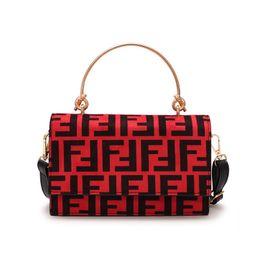 New treNdy ladies haNdbags online shopping - Women F Letters PU Handbag Fashion Protable One Shoulder Bag Trendy Messenger Bag Lady Zipper Tote Wallet Purse Travel Storage Bags New C483