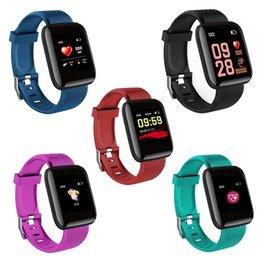 $enCountryForm.capitalKeyWord Australia - Bluelans Sports Color Screen Heart Rate Monitor Waterproof Fitness Smart Bracelet Watch