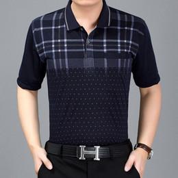 $enCountryForm.capitalKeyWord NZ - A new generation of middleaged summer mens shortsleeved Tshirt polo shirt Dads casual Lapel Tshirt and bottom shirt