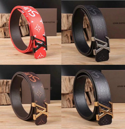 $enCountryForm.capitalKeyWord NZ - TOP best Men belt womens high Quality Genuine Leather black and white color Designer Cowhide Belt For Mens Luxury Belt free shipping box