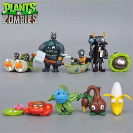 $enCountryForm.capitalKeyWord Australia - Plants vs Zombies 7 8 generation Action Figures 10pcs set PVC Zombies Characters Collection Toy For Children