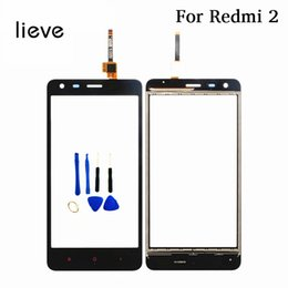 Discount phone sensor - lieve 4.7''phone screen for Xiaomi Redmi2 redmi 2 touch panel digitizer front glass panel replacement sensor w