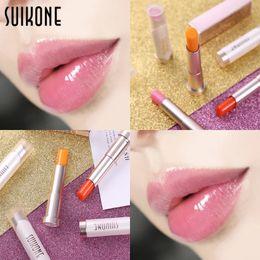 $enCountryForm.capitalKeyWord Australia - Suikone Change Color Natural Moisturizing Colorful Lip Balm Natural Plant Lip Gloss Fruit Embellish lipstick Winter Lip Care