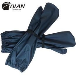 $enCountryForm.capitalKeyWord Australia - Qian Rainproof New Long Pu Waterproof Material Motorcycle Electric Bicycle Raincoat Accessories Windproof Rain Gloves Hot Sale Y190313