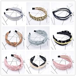 Hair knots styles online shopping - Bohemia Style Hairband Hair Knotted Hair Band for Women Headbands New Arrival Top Knot Turban Vintage Elastic
