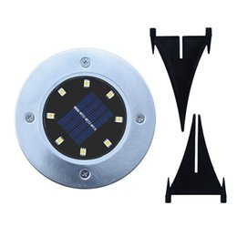 China Solar Powered Ground Light 8 LED Landscape Lawn Lamp Home Garden Outdoor Road Stairs PIR Sensor Ground Floor Light ZZA457 cheap wholesale solar road lamp suppliers