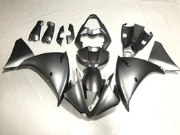 $enCountryForm.capitalKeyWord Canada - Injection Fairing body kit for YAMAHA YZFR1 09 10 11 12 YZF R1 2009 2010 2012 YZF1000 Grey Fairings bodywork+Gifts GS04