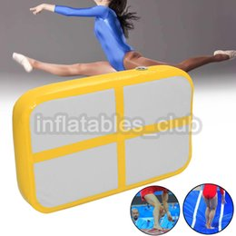 $enCountryForm.capitalKeyWord NZ - Free Shipping Inflatable Air Board For Sale DWF 1*0.6*0.1m Airtrack For Gym Mini Size Air Track Mat Cheap Price Home Use Air Track Mats