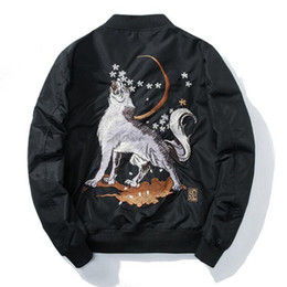 $enCountryForm.capitalKeyWord NZ - Winter Men Embroidery Baseball Jacket Thick Warm Harajuku Wolf Loose Coat Youth Ma-1 Bomber Jacket Male Streetwear Design