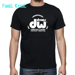 Wholesale tuxedo tee shirts for sale – custom DW Drum Instrument tuxedo shirt men s top tees summer style teeshirt mens new cotton tshirts