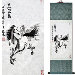 $enCountryForm.capitalKeyWord Australia - Top Quality Art Painting Traditional Chinese Painting Horse Art Chinese Painting Horse Picture1810101206 Home Office Decoration