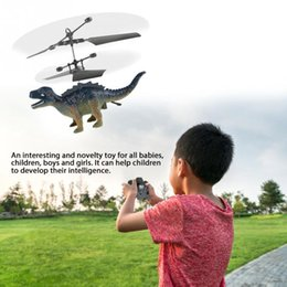 $enCountryForm.capitalKeyWord NZ - Hand Flying Dinosaur Toys for Kids Children RC Dinosaur Helicopter Drone Toy Mini Induction Suspension Flying Toy RTF Remote